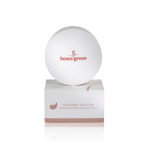 ПАТЧИ ДЛЯ ГЛАЗ BEAUUGREEN POMEGRANATE & RUBY HYDROGEL EYE PATCH, 60 ШТ
