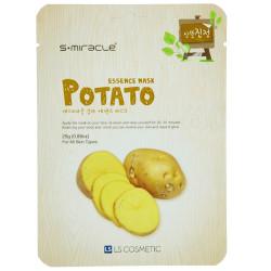 Маска для лица S+MIRACLE с экстрактом картофеля, 1 ШТ